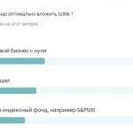 Куда вложить 6 миллионов рублей. Результаты опроса